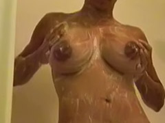 Shower, Shower girls, Busty ebony, Showering girls, Solo shower, Girls showers