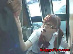 Japanese bus, Bus japanese, Japanese schoolgirl on bus, Schoolgirl bus, Japaneses schoolgirl getting, Japanese on bus