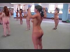 Nudist, Aerobic, Nudisté, Aerobics, Nudist dance, Nudists