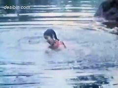 Jungle, Movie sexy, Rivers, River bathing, Sexies movies, Sexi movie