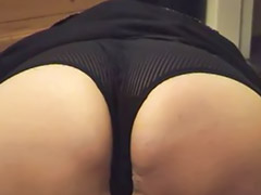 Bbw, Upskirt, Panties, Mature