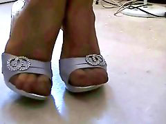 Nylone feet, Marvelle, In nylone, Feet nylons, Feet nylon, Girlfriend feet