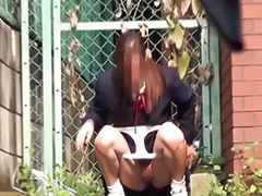 School, School girl, Pee, Japanese pee, Peeing, Accident