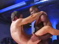 Gym, Interracial anal, Anal interracial, Sex at the gym, Interracial gay, Gay interracial