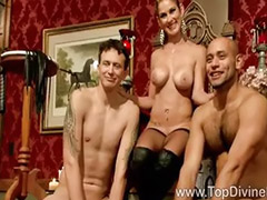 Slave, Dominatrix, Felony, By two, Two slaves, Threesome slave
