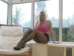 Michelle thorne, Michelle thorn, Pantyhose tease, Thorne, Pantyhose teases