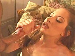 Gwen, First facial, First handjob, Smiling, Smile facial, Handjob first