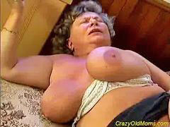 Old, Big cock, Mom, Crazy