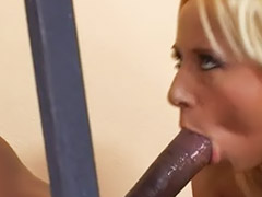Interracial anal, Ass licking