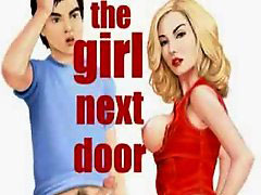 The girl next door cartoon, The next door girl, The doors, Girls next door, گی سکس پسر next door, The girl next door