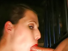 Throat, Deep throat, German handjob, German