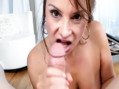 Young couple, Milf, Mature blowjob, Young