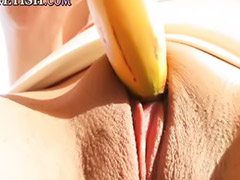 Banana, Maya, Masturbating herself, Blondes girls fuck girl, Maya masturbating, Maya g