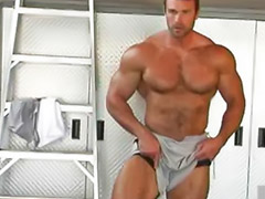 Gym, Hunks, Hunk, Gay gym, Wanked off, Hunk gay