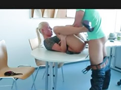 German, Office, German amateur, Roleplay, German couple, Amateur office