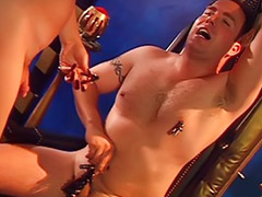 Torture, Shemale torture, Shemale latex, Latex fetish, Tortured, Shemale domination
