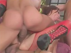 Rough gangbang, Rough anal, Brunette rough, Anal pantyhose, Gangbang dominated, Rough oral