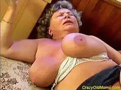 Old, Mom, Big cock