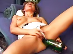Bottle, Cunt, Girl cunt, Bottle solo, Bottle masturbation