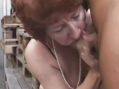 Mature anal, German, Mature