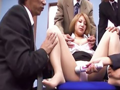 Interracial, Asian, Japanese, Gangbang, Teen gangbang