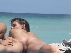 Voyeur, Nude beach, Beach voyeur, Video ass, Video hot, Videos ass