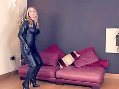 Mistress leather, Leather mistress, Catsuits, Catsuite, Catsuit