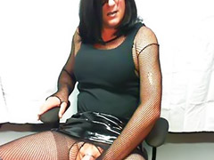 Latex, Crossdresser, Crossdressers, Crossdress, Jeans, Crossdressing