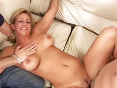 Threesome, Big tits, Mature, Milf