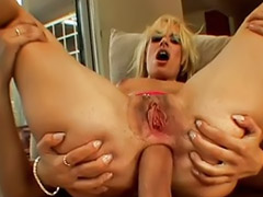 Dp, Rim threesome, Dp vaginal, Dp anal, Dp blonde, Double vagina