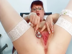 Hairy mature, Mature hairy, Red, Hairy redhead, Stretch, Hairy mature masturbating