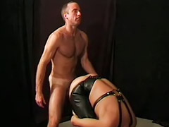 Leather, Gay spank, Wolf, Leather anal, Gay spanking, Wolf sex