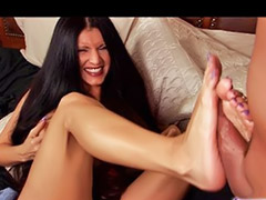 Foxy, Foxy anya, Latin footjob, Juicy masturbation, Footjob milf, Foxy d