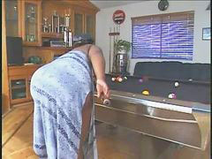 Pool table, The table, Bbw pool, Bbw table, On the table