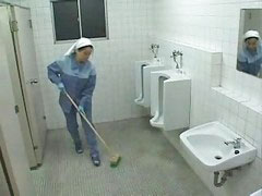 Cleaning, Pat, Cleaning lady, Nurse help, Lady asian, Asian clean
