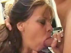 Throatfuck swallow, Throatfucked, Rimming and swallow, Moaning, Moaning milf, Throatfucking