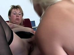 Mature lesbian with mature, Young with old lesbian