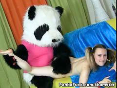 Panda, Teens dance, Teen dance, Turns into, Turned into, Turn into