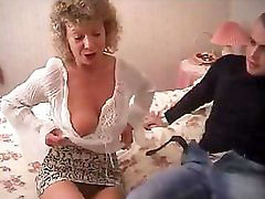 British granny, Totally, With and friend, Fucks her friends, Granny grandson, Granny friend