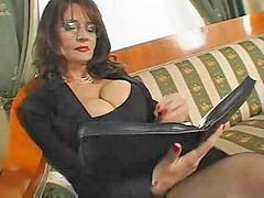 Mature, Secretary, Matures, Sex, Busty