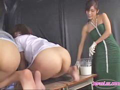 Enema, The teacher, Spank enema, Teacher schoolgirl, Enemas, Schoolgirl spanking