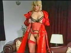 Louise, Red lingerie, Louise leeds, Leeds