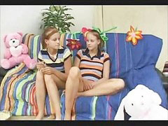 Teen twins, Ñearning, Teen babysitter, Theree, There