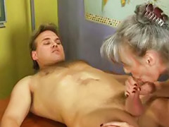 Granny anal, Granny, German mature