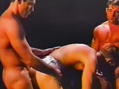 Vintage group anal, Three vintage, Three gays, Men group, Kiss men, Vintage fun