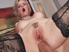 Tarra white, High heels white, Big pantyhose, Tarra, Pantyhose licking, Big white cock big tits
