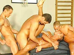 Gym group, Gym group sex, Cum in gym, Heating, Gym gay, Gay gym