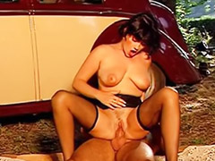 French mature, Mature fuck guy, Double french, Mature french, French milf, French car