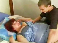 Mom and son, Bbw, Russian, Russian mom, Mom