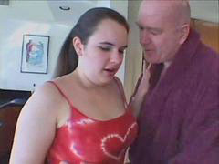 Old man, Bbw teen